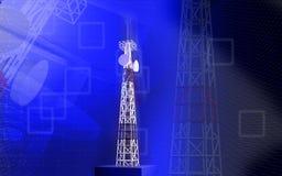 Mobiel communicatiemiddel Stock Foto's