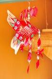 Mobiel karperweefsel of met de hand gemaakte karperherinnering van Thaise traditie Stock Foto