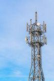 Mobiel telefoonbasisstation Stock Afbeelding