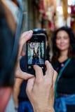 Mobiel telefoonbeeld Stock Foto's