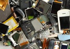 Mobiel telefoonschroot stock fotografie