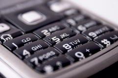 Mobiel toetsenbord royalty-vrije stock afbeelding