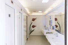 Mobiel toilet royalty-vrije stock afbeelding
