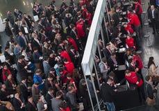 MOBIEL WERELDcongres 2015 Stock Foto's