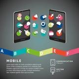 Mobiele aansluting royalty-vrije illustratie