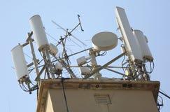 Mobiele antenne stock afbeelding