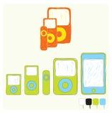Mobiele apparaten Stock Fotografie