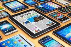 Mobiele apparaten Royalty-vrije Stock Fotografie