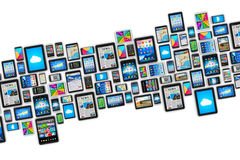 Mobiele apparaten Stock Foto