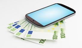 Mobiele betaling Royalty-vrije Stock Foto