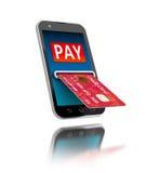 Mobiele Betaling vector illustratie