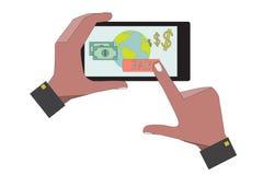 Mobiele Betaling Stock Foto