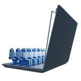 Mobiele bioskoop Royalty-vrije Stock Foto