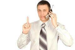 Mobiele cellulaire mededeling Stock Afbeeldingen