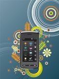 Mobiele communicatiemiddelen royalty-vrije illustratie
