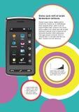 Mobiele communicatiemiddelen Royalty-vrije Stock Afbeelding