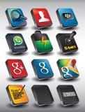 Mobiele 3D Pack2 Stock Fotografie