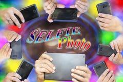 Mobiele fotografie Royalty-vrije Stock Fotografie