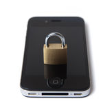 Mobiele Internet veiligheid Royalty-vrije Stock Afbeeldingen