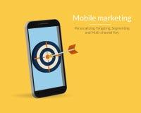 Mobiele Marketing stock illustratie