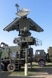 Mobiele radar-volgen-vliegende doelstellingen Stock Afbeelding
