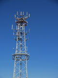 Mobiele radiobasistoren Stock Foto's