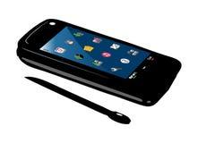 Mobiele slimme telefoon Royalty-vrije Stock Foto's