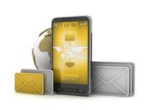 Mobiele technologie Stock Afbeelding