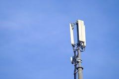 Mobiele telefonieantenne Stock Foto