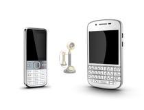 Mobiele telefoon, Royalty-vrije Stock Afbeeldingen