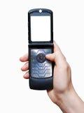 Mobiele telefoon Stock Foto's