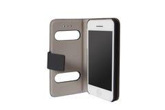 Mobiele telefoon in de zak Royalty-vrije Stock Foto's