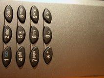 Mobiele telefoon - detail 2 Royalty-vrije Stock Afbeelding