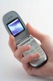Mobiele telefoon - Handig Royalty-vrije Stock Afbeeldingen