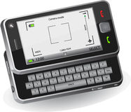 Mobiele telefoon met camera Royalty-vrije Stock Fotografie