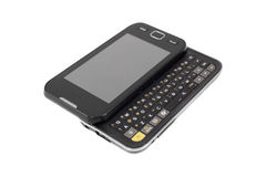 Mobiele telefoon met het toetsenbord Royalty-vrije Stock Foto's