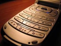 Mobiele telefoon op het bureau Royalty-vrije Stock Fotografie