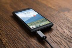 Mobiele Telefoon op Last Stock Fotografie