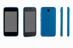 Mobiele telefoon op witte achtergrond Royalty-vrije Stock Afbeelding