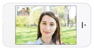Mobiele Telefoon Videovraag Royalty-vrije Stock Fotografie