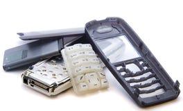 Mobiele telefoon voor een deel stock foto