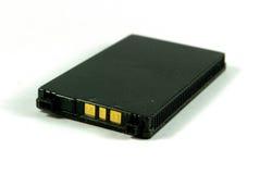 Mobiele telefoonbatterij Stock Foto's