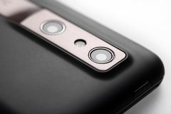 Mobiele telefooncamera Royalty-vrije Stock Afbeeldingen