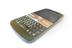 Mobiele telefoonclose-up Stock Afbeelding
