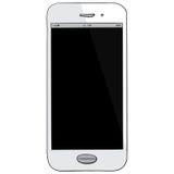 Mobiele Telefoonhand Getrokken Vectorillustratie Stock Foto's