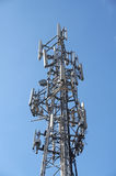Mobiele telefoonmast Stock Fotografie