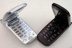 Mobiele telefoons stock afbeeldingen