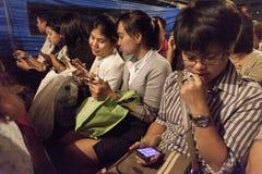 Mobiele telefoons stock foto