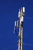 Mobiele telefoontoren Stock Fotografie