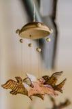 Mobiele vogel Stock Foto